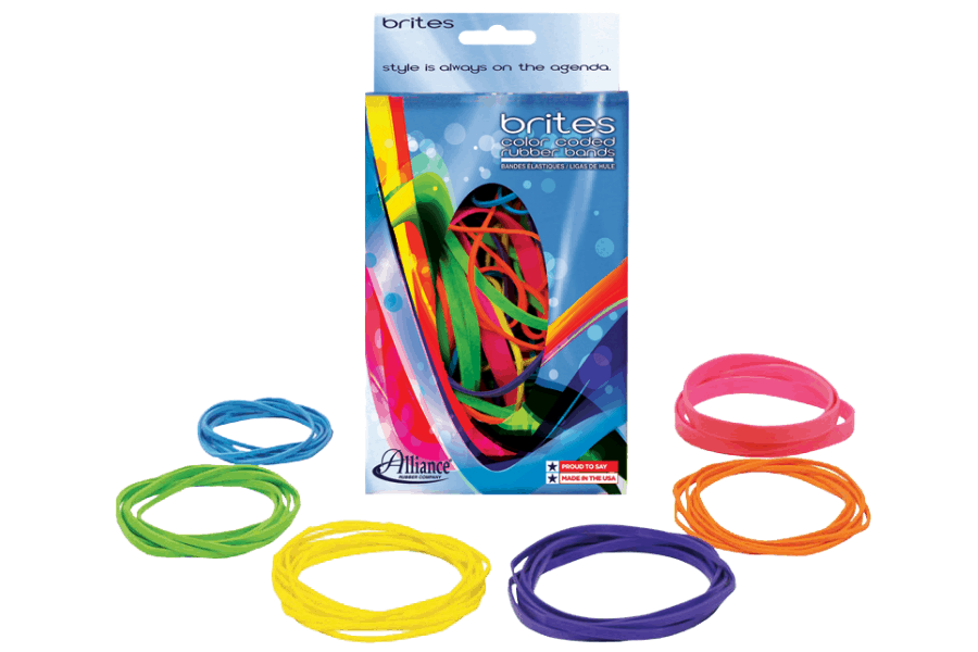 BRITE RUBBER BANDS